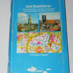 Harta Turistica - MUNCHEN - GHID TURISTIC CU HARTA 1977