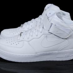 Ghete barbati - Ghete Nike Air Force One Alb model nou