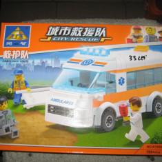 Lego ambulanta - Jocuri Seturi constructie