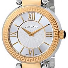 Versace Women's VNC050014 Leda Gold Ion-Plated | 100% original, import SUA, 10 zile lucratoare af12408 - Ceas barbatesc Versace, Quartz