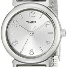 Timex Women's T2P3079J Silver-Tone Watch with | 100% original, import SUA, 10 zile lucratoare af22508 - Ceas dama