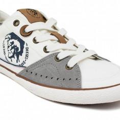 Diesel Sneakers CM 290-A culoare alb/ivory - Tenisi barbati Diesel, Marime: 41, Culoare: Ivoire