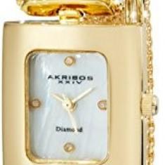 Akribos XXIV Women's AK510YG Mesh Wraparound | 100% original, import SUA, 10 zile lucratoare af22508 - Ceas dama