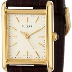 Pulsar Women's PTC386 Gold-Tone Brown Leather | 100% original, import SUA, 10 zile lucratoare af22508 - Ceas dama