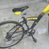 Bicicleta Tornado Ultra - Bicicleta de oras, 16 inch, Discuri, Drept(Flatbar), Plastic armat cu fibre de carbon