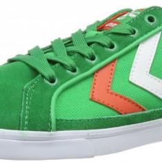 Adidasi sport originali HUMMEL-din piele naturala-adidasi barbati-41, Culoare: Verde