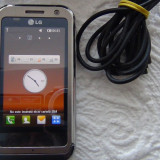 LG KM900 - Telefon LG, Argintiu, <1GB, Neblocat, Single core, Nu se aplica