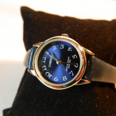 Ceas de dama CARRIAGE (by Timex), clasic, aproape nou - Ceas dama Timex, Casual, Quartz, Metal necunoscut, Piele - imitatie, Analog