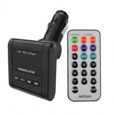 Modulator FM auto - Astrum Modulator FM 3 in 1 LCD display | USB | SD | MMC |Line-in