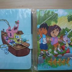 Husa Tableta - Husa universala tableta 7 in copii Dora Spongebob