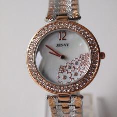 Ceas de Dama Geneva - JESSY ceasuri AURIU +ARGINTIU dama + CUTIE CADOU ceas gen guess CE126