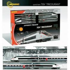 Trenulet de jucarie - Start set tren TGV TRICOURANT - MEHANO T110