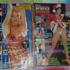 Reviste XXX - REVISTA PRO SEX, 2 NUMERE .