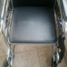 Scaun cu rotile - Carucior pentru persoane cu handicap (cu WC)