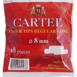 Foite tigari - Filtre CARTEL REGULAR LONG pentru rulat tutun, tigari