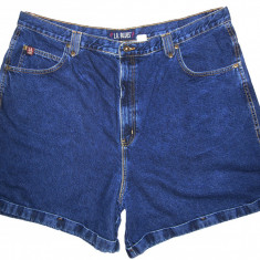 Bermude barbati, Bumbac - (BATAL) Pantaloni scurti blugi L.A. BLUES - (MARIME: 42) - Talie = 112 CM