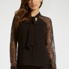 BL252-1 Bluza eleganta cu maneci lungi din dantela - Bluza dama