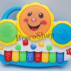 Instrumente muzicale copii - Orga electronica cu melodii si lumini - Calitate pentru copilul tau!