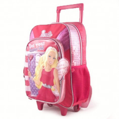 Rucsac Copii - Troler Barbie pentru fetite