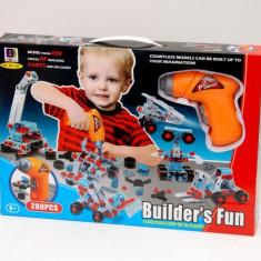 Scule si unelte - Bormasina electrica de jucarie pentru copii - Bomasina magica copii!