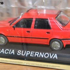 Macheta auto, 1:43 - 3507.Macheta Dacia Supernova - Masini de legenda scara 1:43