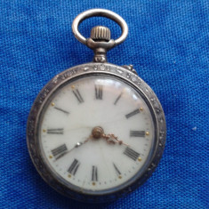 Ceas de buzunar - ARGINT CEAS VECHI