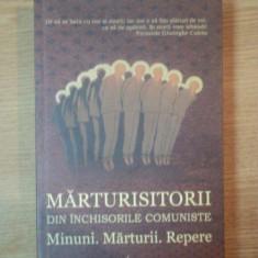 Istorie - MARTURISITORII DIN INCHISORILE COMUNISTE, MINUNI. MARTURII . REPERE, 2011