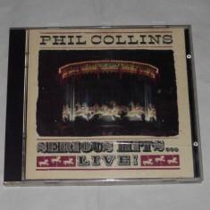 Vand cd PHIL COLLINS-Serious hits...Live! - Muzica Pop warner