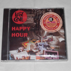 Vand cd sigilat LAST CALL'S-Happy hour - Muzica Pop wagram