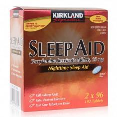 Somnifere Sleep Aid - 25mg Doxilamina Succinata - 192 tablete