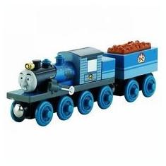 Locomotiva Ferdinand, colectia Thomas si prietenii sai, Fisher Price - Trenulet de jucarie Fisher Price, 4-6 ani, Lemn, Baiat
