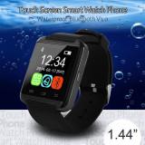 ceas inteligent smartwatch, touch screen, display 1,44 inch, sincron. bluetooth