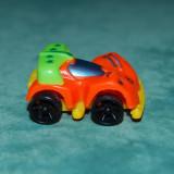 Jucarie figurina masinuta curse, portocaliu, 4 cm, plastic, colectie, - Figurina Povesti