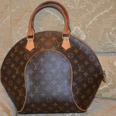 Vand geanta Louis Vuitton - Geanta Dama Louis Vuitton, Culoare: Maro, Marime: Medie, Geanta umar manere scurte, Asemanator piele