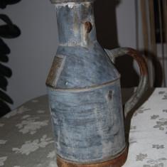Vechi recipient de masurat 5 litri din tabla zincata marcata - Metal/Fonta, Vase