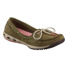 Pantofi de vara pentru dame Columbia Sunvent Boat (CLM-BL4434k) - Balerini dama Columbia, Marime: 36, 40, Culoare: Taupe