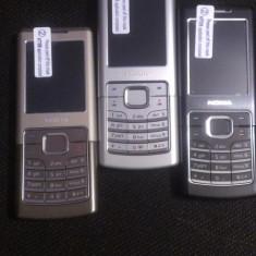 Telefon Nokia, Negru, 1GB, Neblocat, Fara procesor, Nu se aplica - NOKIA 6500 CLASSIC negre albe si aurii ! POZE REALE