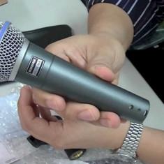 Microfon Shure Incorporated Shure Beta 58A cu fir / Microfon Shure Incorporated pentru spectacole cu fir Shure Beta 58A / Microfon Shure Incorporated karaoke Shure Beta 58A