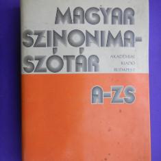 DICTIONAR DE SINONIME MAGHIAR - Dictionar sinonime
