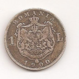 -Ss- 1 LEU 1900 AG CU PATINA!!!!!!! - Moneda Romania