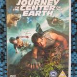 Film SF, DVD, Engleza - JOURNEY TO THE CENTER OF EARTH - film 2 DVD-uri - cu BRENDAN FRASER (original din Anglia, in stare impecabila!!!)