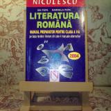 Ion Popa - Literatura romana manual preparator pentru clasa a V a - Manual Clasa a V-a