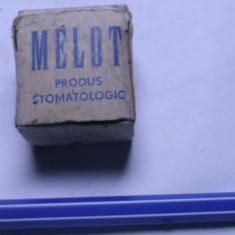 Aliaj usor fuzibil se topeste la 90 grade cositor Melot stomatologie