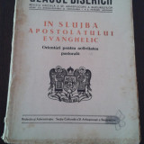 Carti bisericesti - GLASUL BISERICII -- IN SLUJBA APOSTULUI EVANGHELIC -- Orientari pentru activitatea pastoriala -- Ianuarie - Februuarie 1949, Anul VIII nr. 1-2, 135 p.