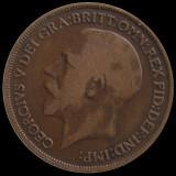 MAREA BRITANIE KM#810 - 1 Penny 1918, Europa, An: 1918