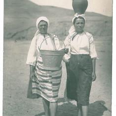 Carti Postale Romania 1904-1918 - 871 - Olt, SLATINA, ethnic - old postcard, real PHOTO CENSOR SPITAL - used