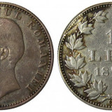 Romania 1 Leu 1870 Piesa de colectie ! Eroare din laminare !!! RARA ! - Moneda Romania, An: 1870