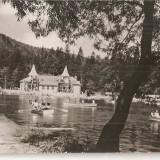 Carti Postale Romania dupa 1918, Circulata, Fotografie - CPI (B4501) TUSNAD - LACUL CIUCAS. EDITURA COMBINATUL POLIGRAFIC CASA SCANTEII, CIRCULATA, 3.9.1966, STAMPILA, TIMBRU