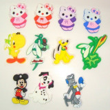 Set 30 figurine Disney din silicon, modele la alegere , h 3-4 cm   MARTISOARE