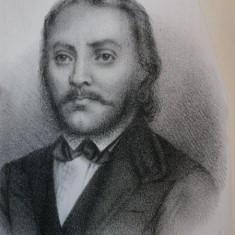 GEORGIU LAZARU SI SCOL'A ROMANA (MEMORIU) de PETRU POENARIU 1871 - Carte veche